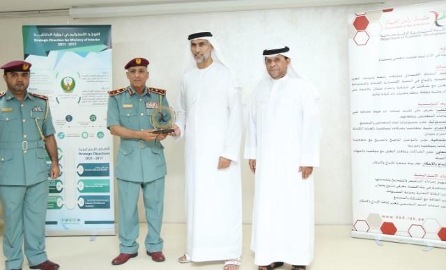 Singing contract with RAK Police